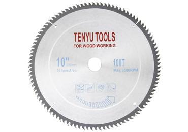 10 Inch 100 Teeth Carbide Circular Saw Blades for Wood Cutting