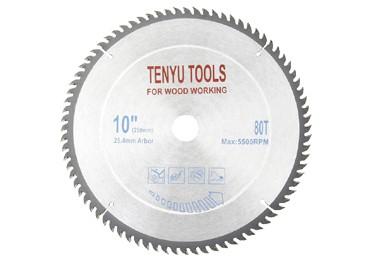 10 Inch 80 Teeth Carbides Circular Saw Blades for Wood Cutting