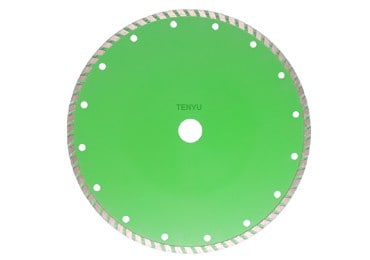 12 Inch Turbo Diamond Cutting Saw Blade for Marble and Tile Cutting