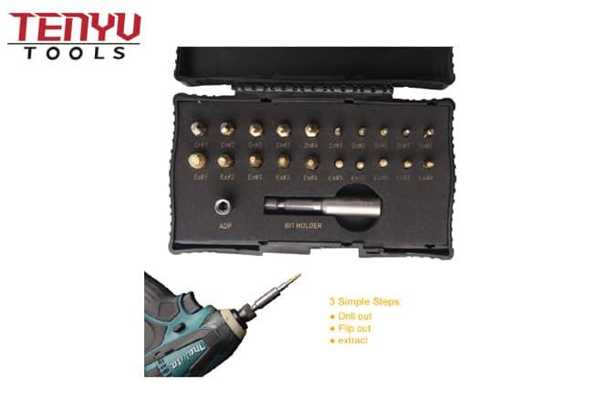 18 PCS Best Stripped Screw Bolt Damaged Extractor Set 5