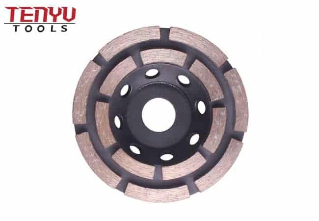 4 inch Diamond segment grinding CUP wheel disc grinder concrete Granite Stone saw blade