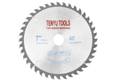 7 Inch 40 Teeth Carbide Circular Saw Blades for Wood
