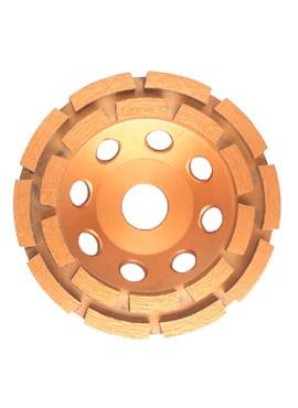 7 inch Diamond Double row segment grinding CUP wheel disc grinder concrete Granite Stone saw blade