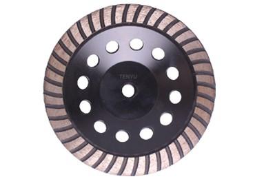 7 inch Diamond segment grinding CUP wheel disc grinder concrete Granite Stone saw blade