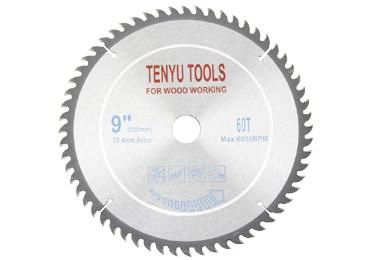 9 Inch 60 Teeth Carbide Circular Saw Blades for Wood