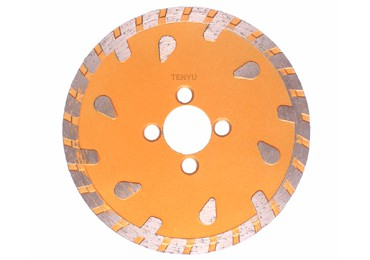 Diamond Cutting Blades for Concrete with Water Drop Pattern