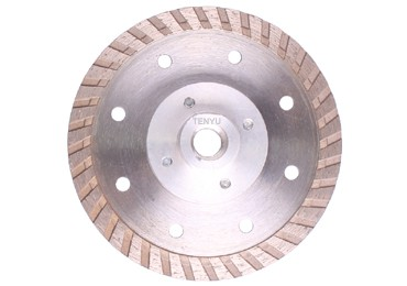 Diamond Saw Blade with Flange for Maximum Cutting Ability