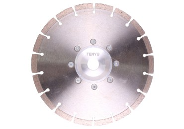 Diamond Saw Blades with Flange Make your More Stable Cutting