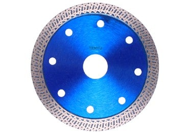 Diamond Tile Saw Blade with Fish Pattern with Faster Cutting