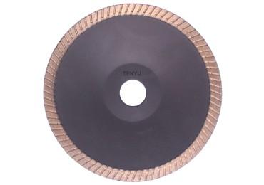 Hot Press Turbo Diamond Saw Blades with Bowl Shape