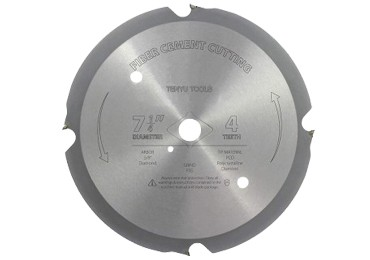 PCD Fiber Cement Cutting Saw Blade for 4 Teeth6 Teeth8 Teeth