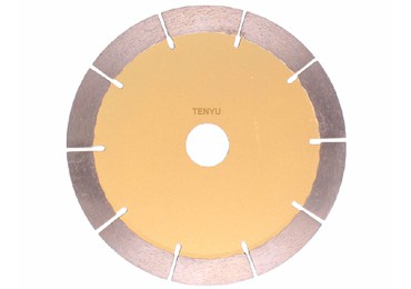 Segmented Rim Diamond Cutting Blades for Added Durability