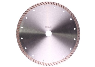 Silver Surface Diamond Cutting Saw Blades for Tile Cutting