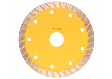 Turbo Rim Diamond Circular Saw Blades Cold Cutting