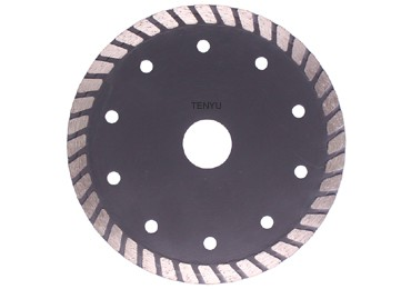 Turbo Rim Diamond Saw Blade for Dry or Wet Cutting