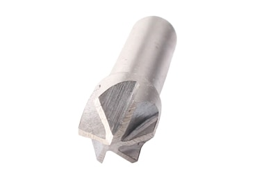 M2 Cylindrical Shank 6 Flute 60 Degree Countersink Drill Bit for Metal Drilling
