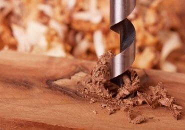 Wood Auger Drill Bit Using