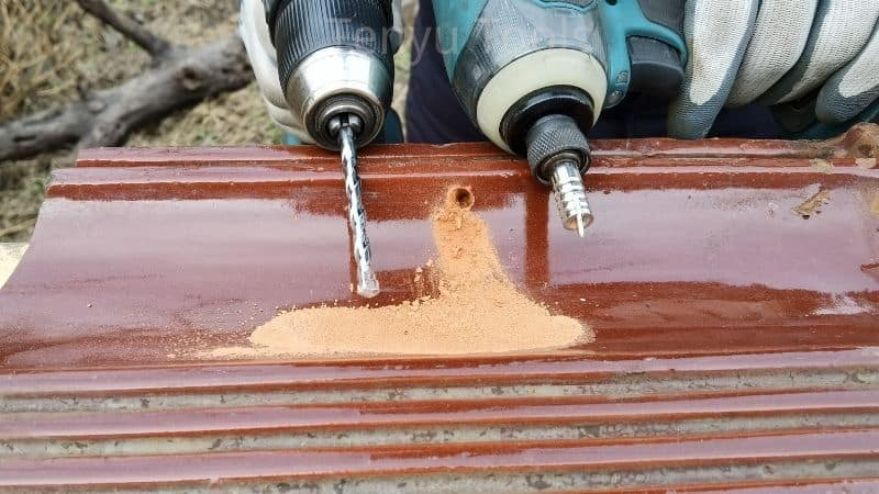 An example of a concrete drill bits