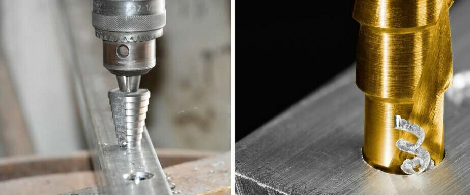 Features of Stepped Drill Bits