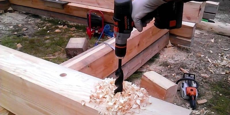 How Do You Drill Wood Using an Auger Bit