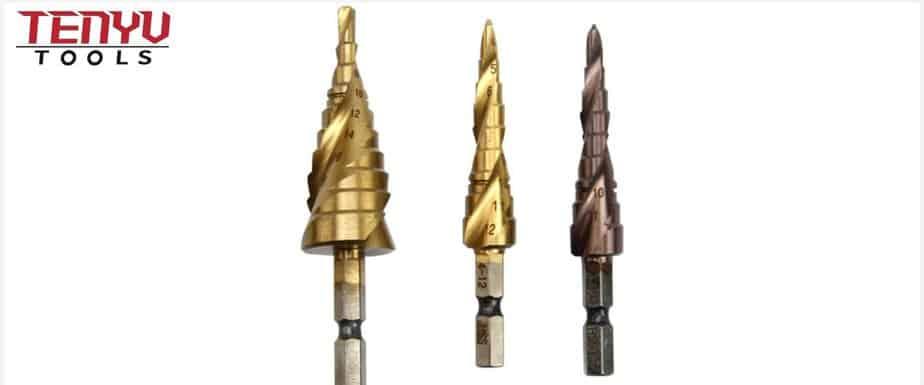 Titanium vs. Cobalt Step Drill Bits