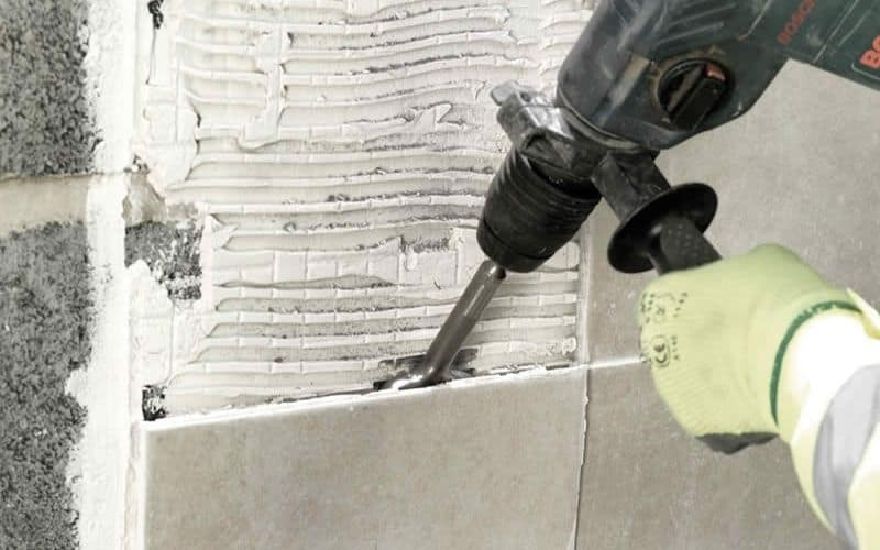 Can You Remove Floor TIles Using an SDS Chisel Bit_