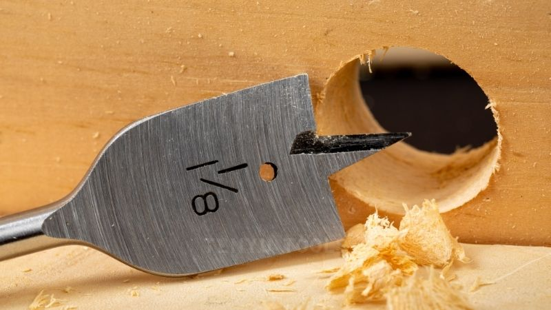 Can a Wood Spade Bit Work on Drywall_