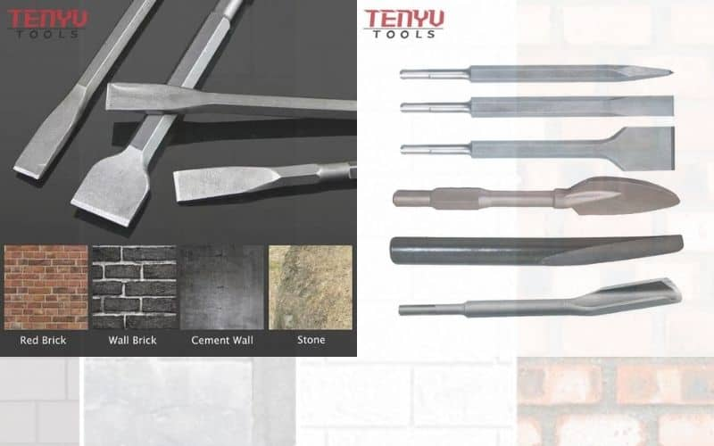 Different Types of SDS Chisels and Other SDS bits
