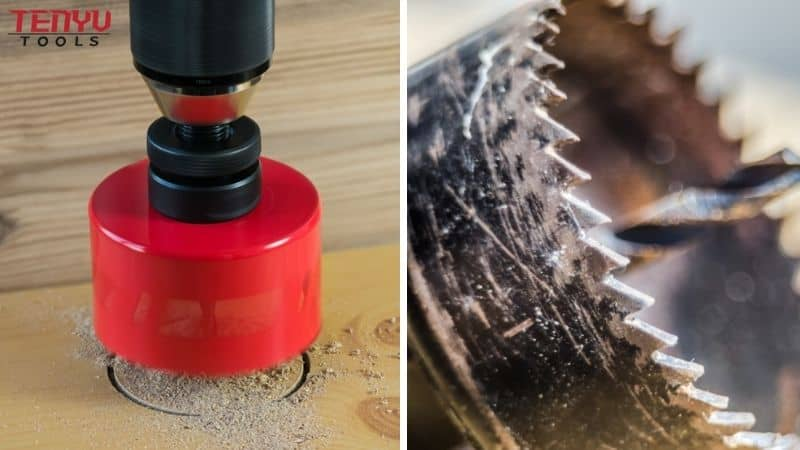 Features and Benefits of Tenyu Tools' Hole Saws
