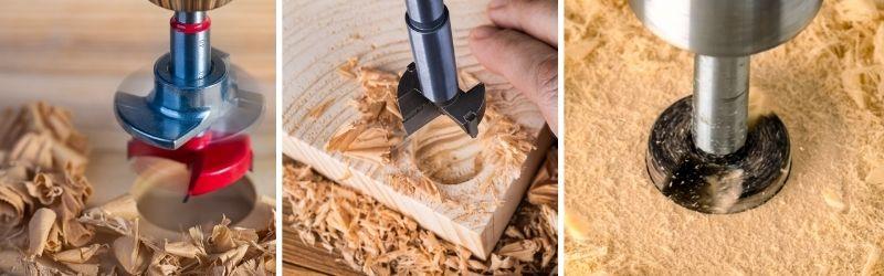 Forstner Bits vs. Auger Bits vs. Hole Saws