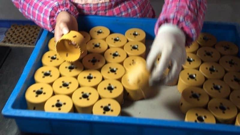 Tenyu Tools' Hole Saws