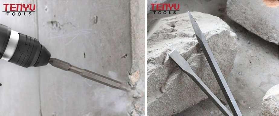 Tenyu Tools' SDS Chisels