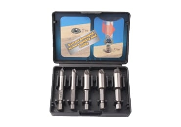 5Pcs Hex Shank Damaged Screw Remover Screw Extractor Set for Any Broken Stripped Damaged Screw